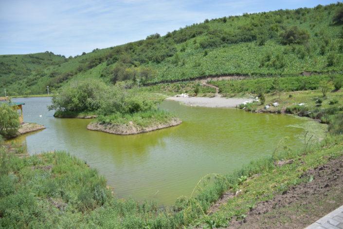 рыбалка, большое озеро