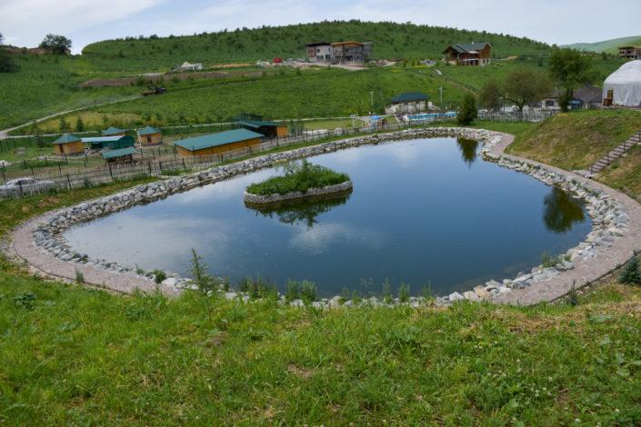 рыбалка, маленькое озеро